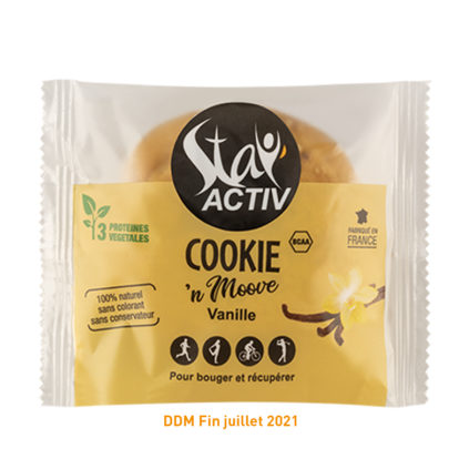 Cookie Stay'Activ Vanille